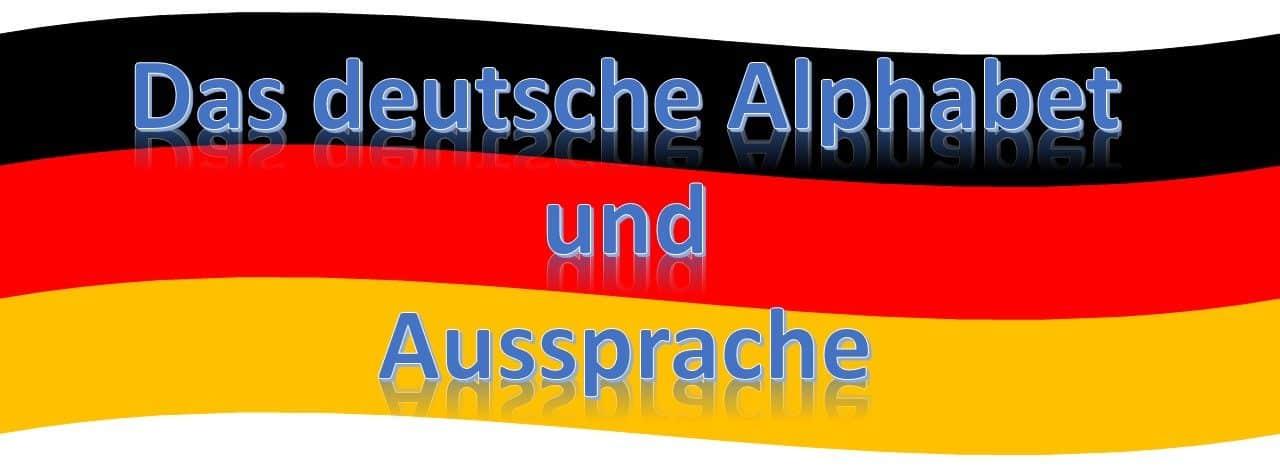 Niemiecki alfabet i wymowa niemiecka